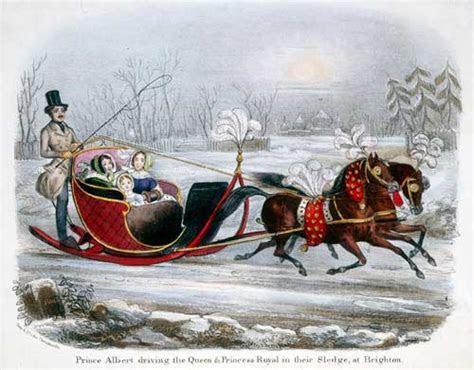 Queen Victoria?s Winter Sleigh