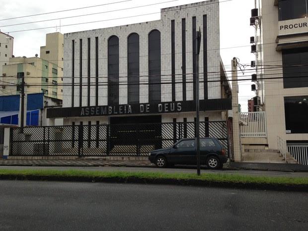 Caso aconteceu em uma igreja no bairro Aparecida (Foto: João Paulo de Castro)