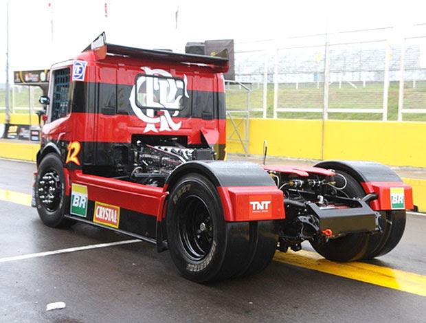 caminhão do Flamengo na Fórmula Truck (Foto: Divulgação / Site Oficial)