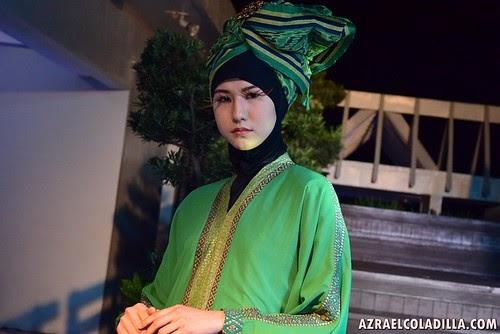 "Malaysian boutique ""Pua Heritage"" showcases their modern-traditional fashion clothes in Manila"