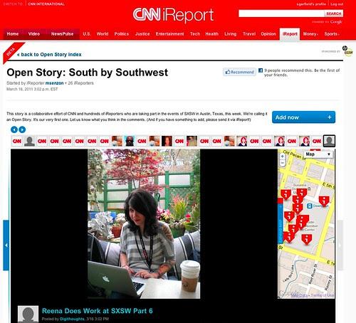 CNN Open Story SXSW