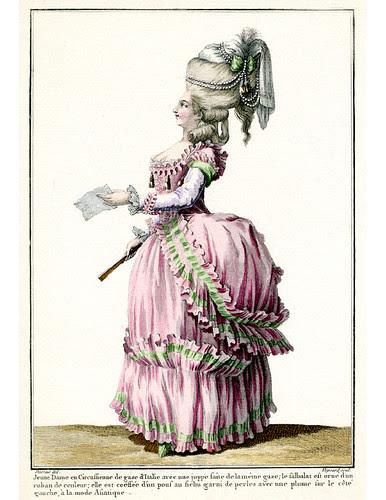 Galerie Des Modes Pink Soiree Dress.jpg