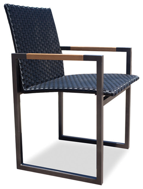 Harbour Outdoor - Coast Woven Carver Chair - modern - outdoor ...