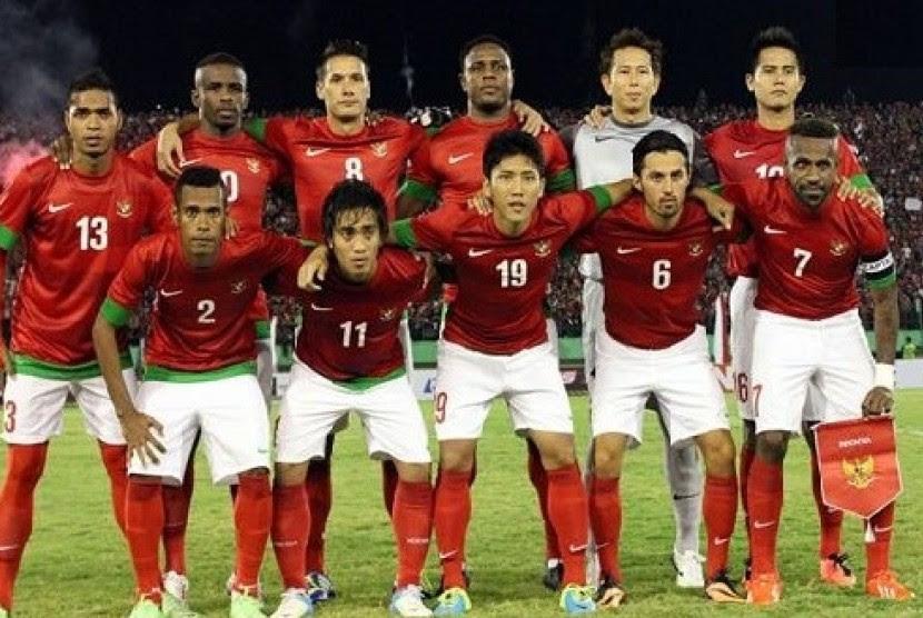 Daftar 24 Pemain Timnas Indonesia Versus Cina  Republika Online
