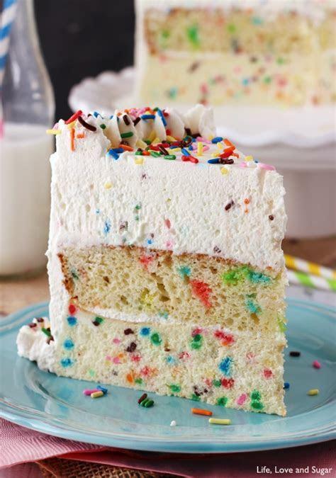 Funfetti Millionaire Cake   Life Love and Sugar
