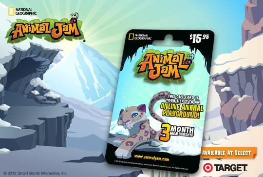 Image result for animal jam snow leopard card