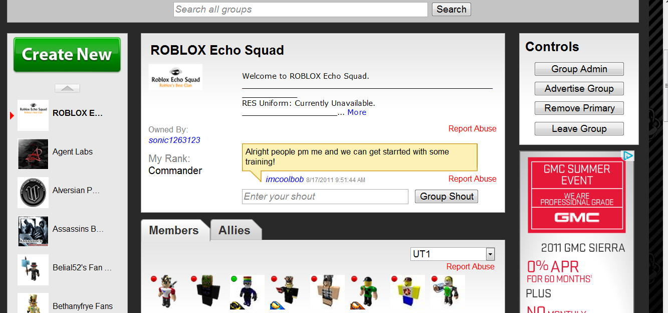 New Group Layout Review The Current Roblox News - groups on roblox