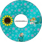 CD DVD Frozen Fever Cute