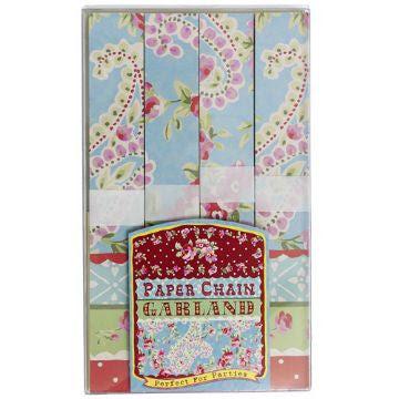 Pretty Paisley Paper Chain Kit