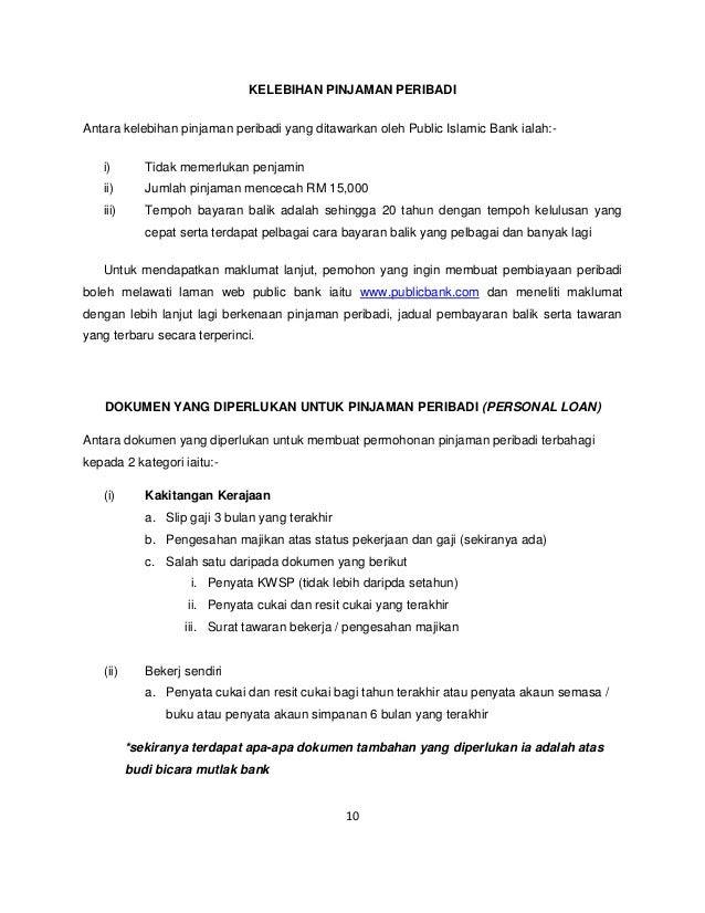 Surat Rasmi Permohonan Penyata Bank - Surat VV
