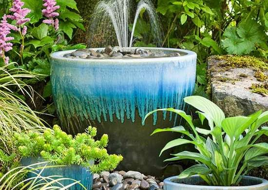 Get Inspired For Garden Ideas With Pots And Stones images