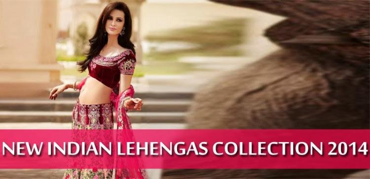 Indian-Bridal-Wedding-Lehangas-Velvet-Embroidered-Blouse-Fish-Cut-Lehenga-by-Brides-Galleria-