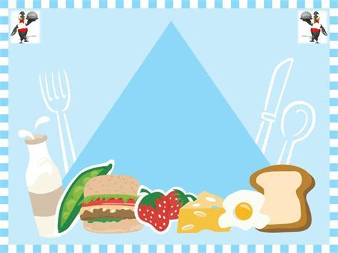 Free Foods Animation Template For Powerpoint Presentation