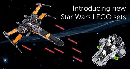 Introducing New Star Wars LEGO Sets from Pley