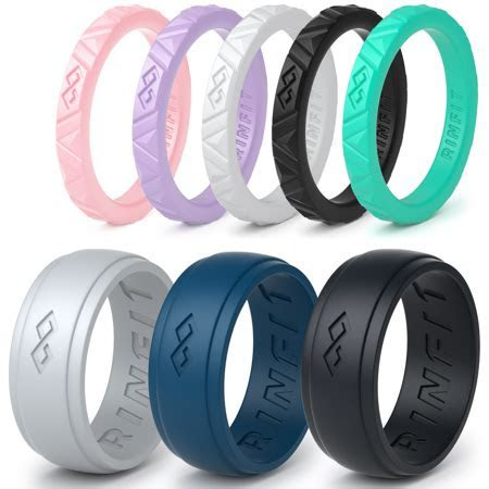 rubber wedding bands for men   Wedding Bands Design Ideas