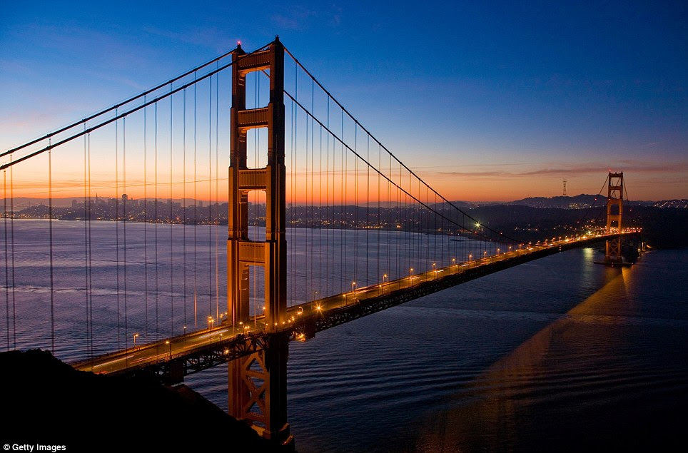 Anticipation: On Sunday, May 27, 2012 it will be 75 years since the famous red bridge was opened, linking the northern point of the San Francisco peninsula to Marin County across the opening of the San Francisco bay