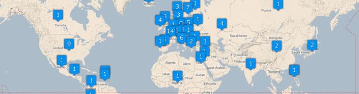 Nobels Map