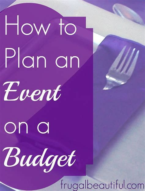 Planning an event can be stressful in and of itself