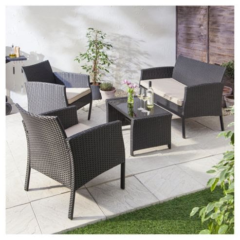 Buy Marrakech 4-piece Rattan Garden Furniture Set from our ...