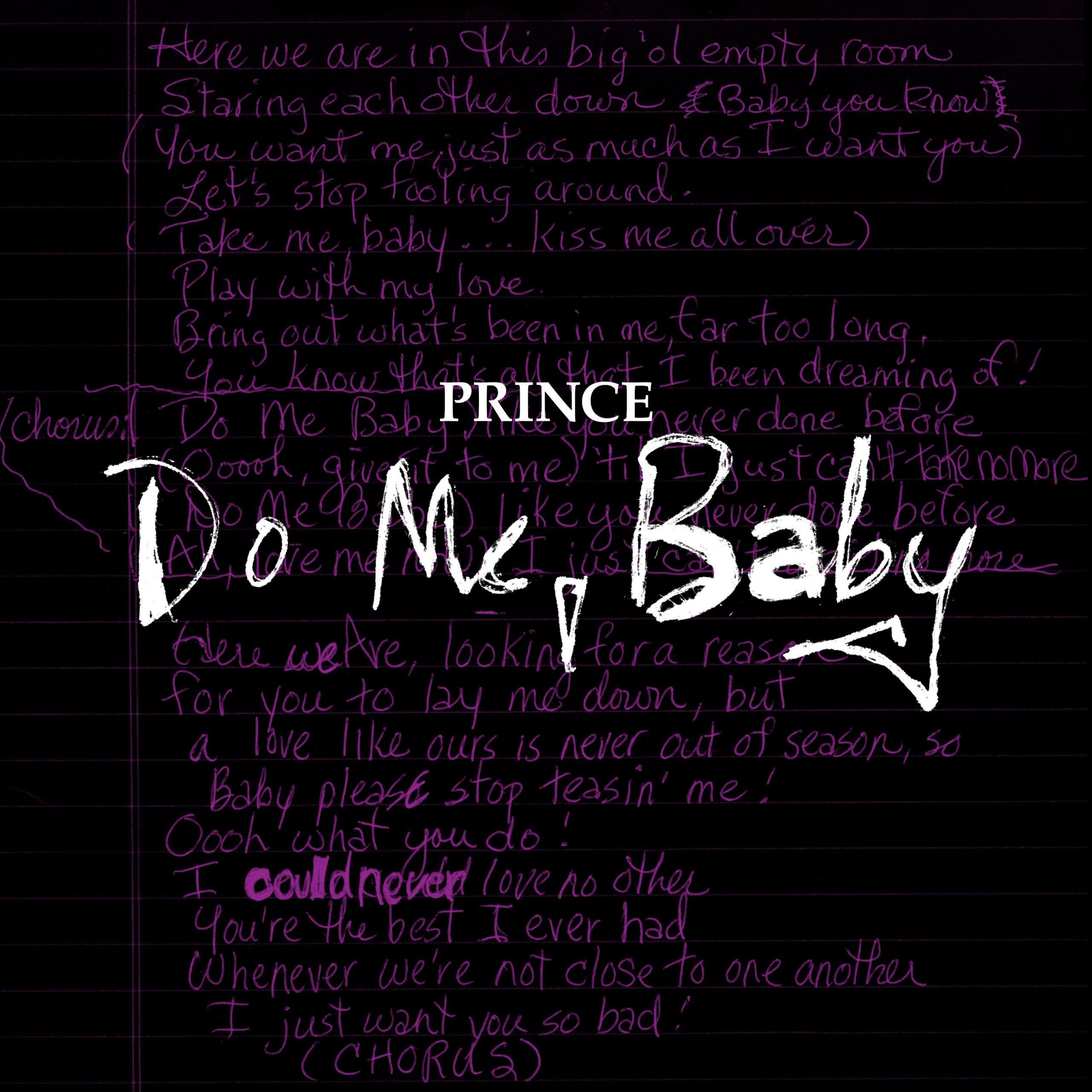 "Prince - ""Do Me, Baby (Demo)"" | Official Audio"