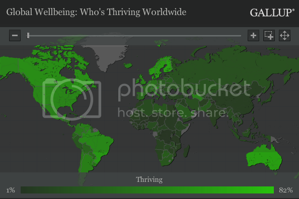 gallup global happiness map
