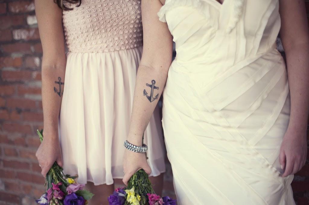 Cute Matching Sister Tattoos