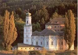 La chiesa dedicata all'Immacolata concezione di Maria, a Volders, in Tirolo, voluta da fra Tommaso Acerbis