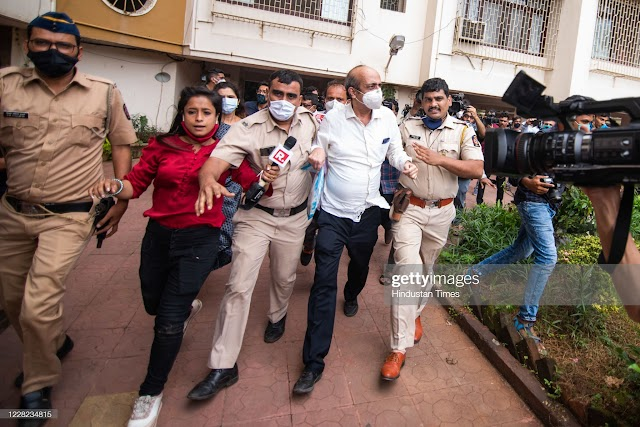 Sushant Singh Rajput Murder Case Riya Chakrabortty Surprising information to the news media