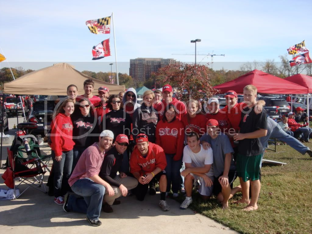 Tailgating Group Shot