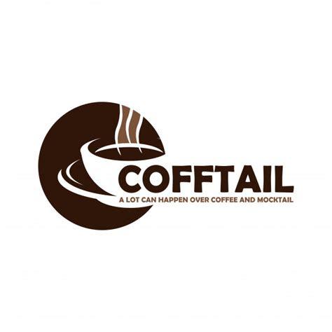 coffee logo design vector premium