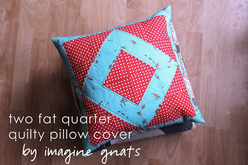 2FQ quilty pillow cover