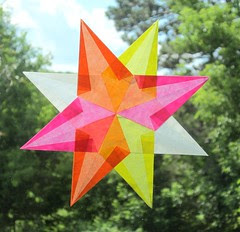 Summer of Color - 8 Point Star