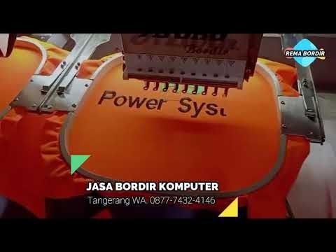 REMA BORDIR Melayani Jasa Bordir Komputer Logo - Bordir Kaos - Bordir Seragam - Bordir PDL PDH