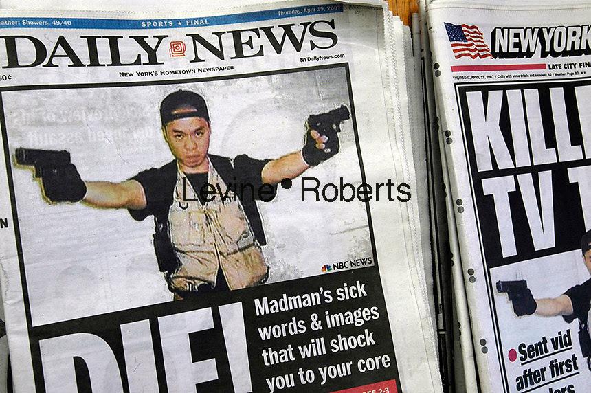 Tabloids print killer's final rants | Richard Levine and Frances ...