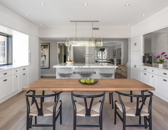 White-Washed & Calcutta   Kitchen   Astro Design, Ottawa ...