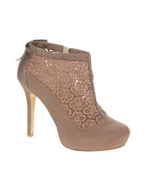 Image 1 of ASOS TORNADO Lace Shoe Boot