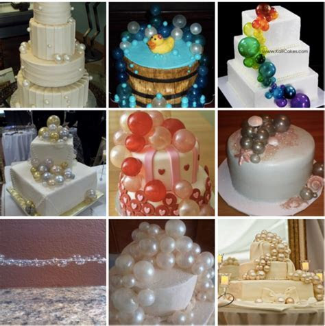 Top Gelatin Bubble Cakes   CakeCentral.com