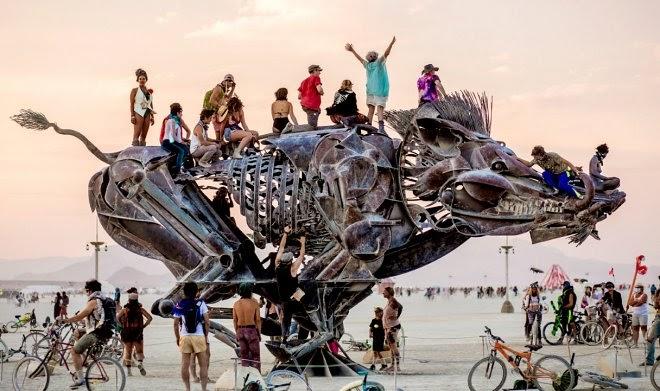 Фестиваль Burning Man 2021 пройдет целиком в виртуальной реальности