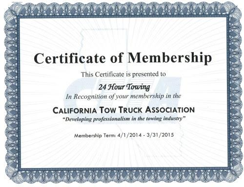 California Tow Truck Association Membership | 24 Hour ...