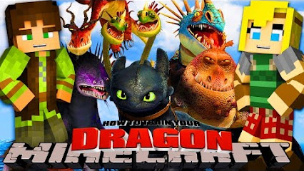minecraft little lizard how to train your dragon 5