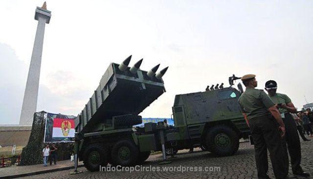 pertahanan indonesia di monas
