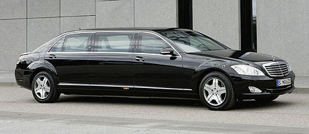 unit division has unveiled the Mercedes-Benz S600 Pullman Guard ...
