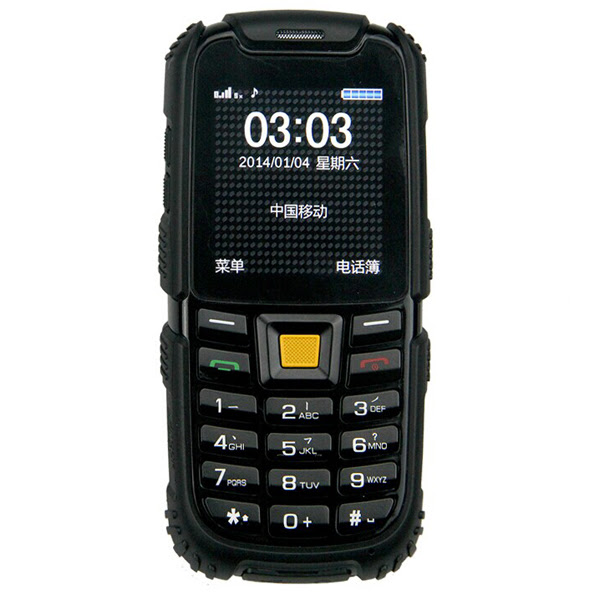 "S6 2.4 ""Dual SIM Card esterna robusta antiurto aterproof Phone"