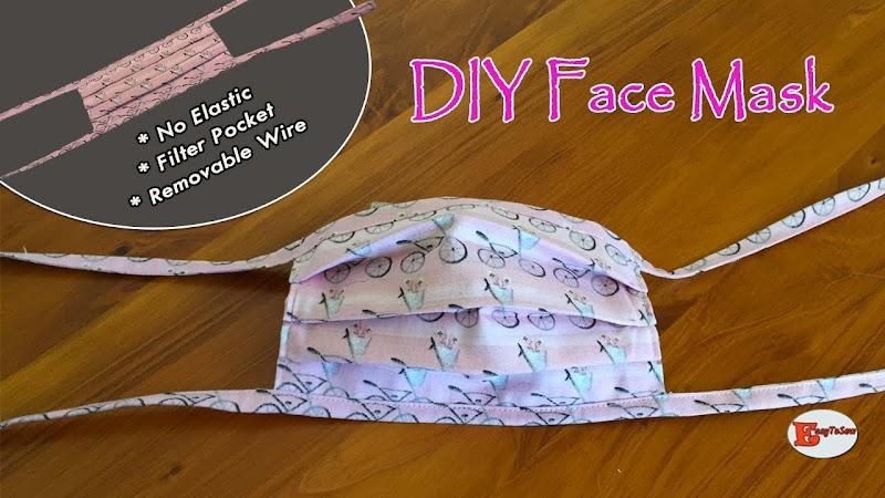 Diy Face Mask No Elastic