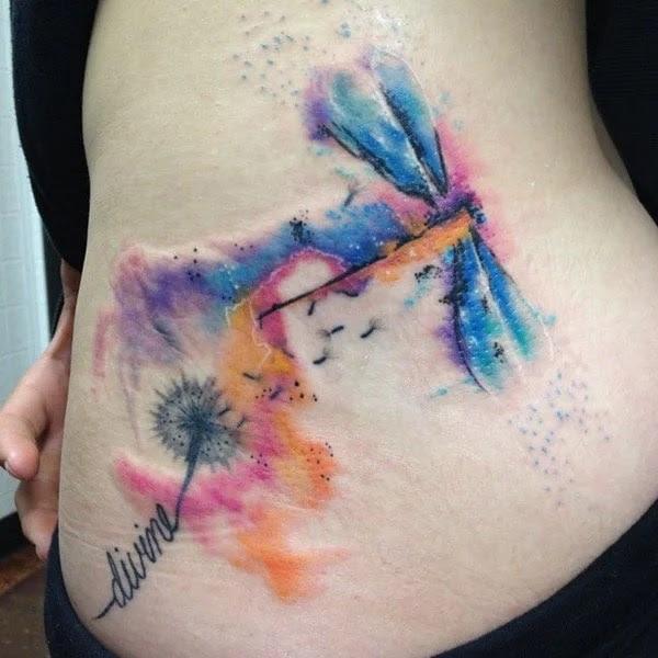 75 desenhos de tatuagem de libélula bonito e sexy 54 por Bryan