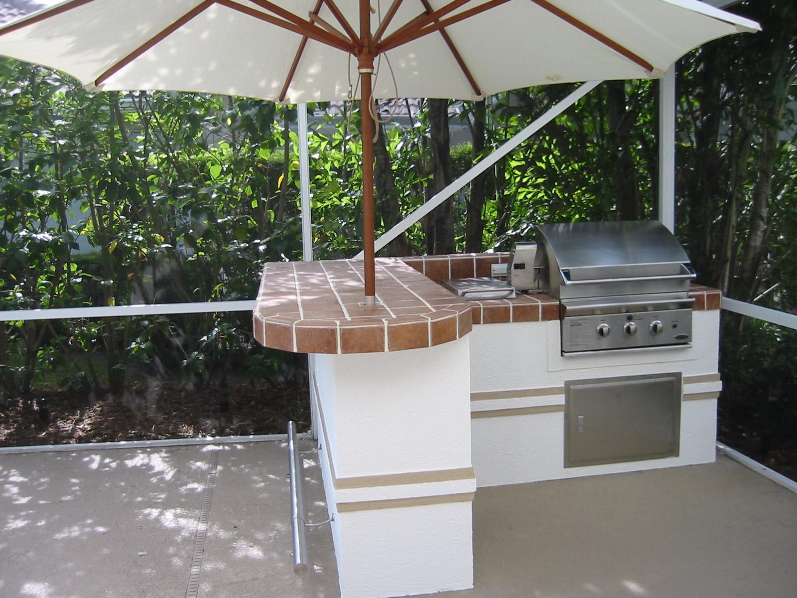 Outdoor Kitchen Plans