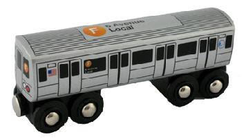 Transit Museum - F Train - Toy Train