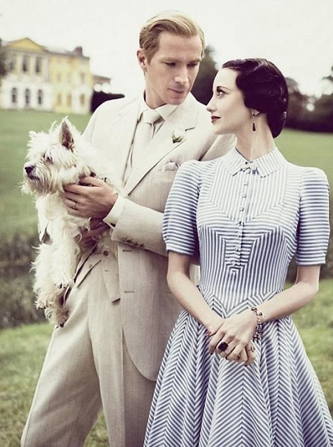 Andrea Riseborough & James D'Arcy in W./E.