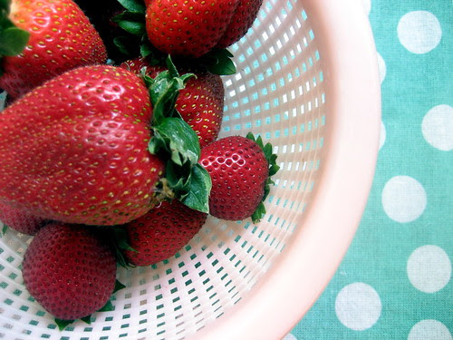 strawberries, whole