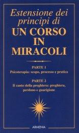 Estensione dei Principi di un Corso in Miracoli - Libro
